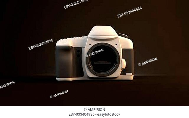 camera without a lens of non-standard color