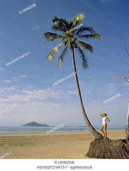 Women, Beach, Swimwear