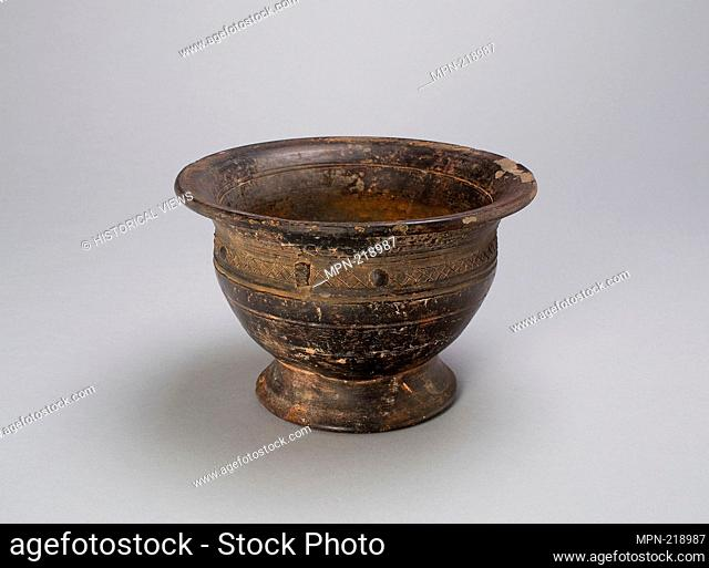 Footed Bowl - Western Zhou dynasty (c. 1050-771 B.C.), c. 10th century B.C. - China, possibly Henan province - Origin: China, Date: 1100 BC-900 BC