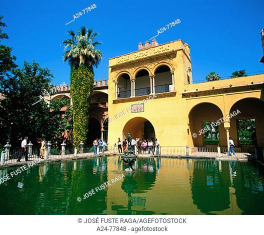 Reales Alcázares. Sevilla. Spain