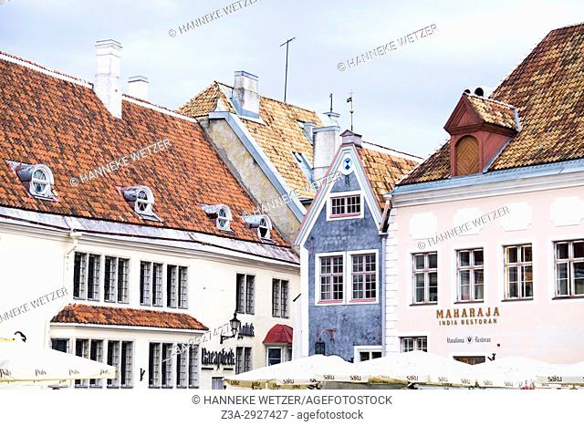 Town Hall Square in Tallinn, Estonia, Europe