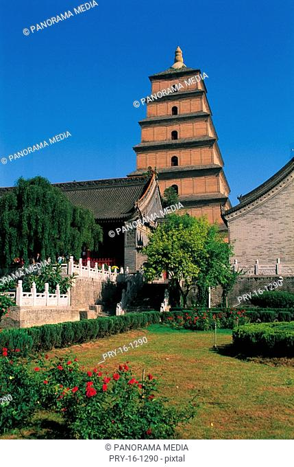 View of Dayan Tower,Xian