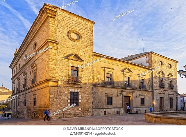 Town hall and Palacio de Vázquez de Molina. Úbeda. Jaén. Andalusia. Spain