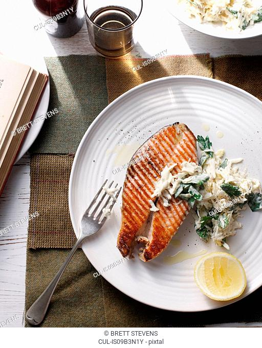 Fish cutlets with remoulade