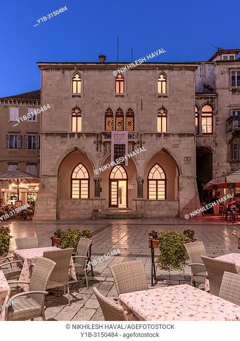 Stara Gradska Vijećnica, Old Town Hall, Split, Croatia