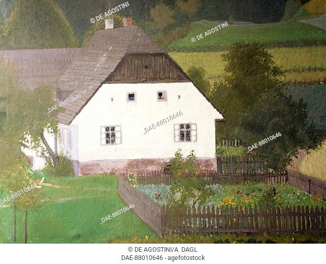 The house on the estate owned by Alban Maria Johannes Berg (1885-1935) at Berghof, Carinthia.  Vienna, Alban Berg Stiftung