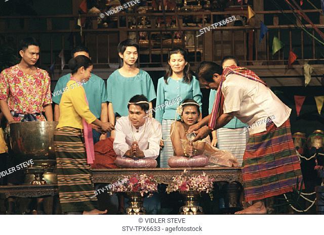 Asia, Bangkok, Ceremony, Holiday, Landmark, Marriage, Rose garden, Thai, Thailand, Tourism, Traditional, Travel, Vacation, Weddi