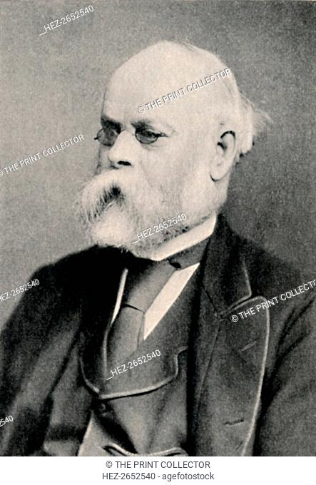 'Samuel Plimsoll, M.P.', c1890, (1904). Samuel Plimsoll (1824-1898) was an English politician and social reformer, now best remembered for having devised the...