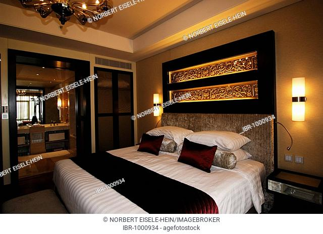 Suite in the Kempinski Hotel in the Mall of the Emirates, Dubai, United Arab Emirates, Middle East