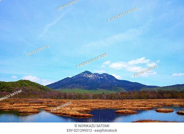 Mt.Hiuchigatake and Oze marshland