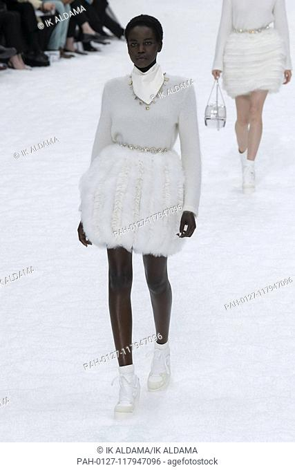 CHANEL runway show during Paris Fashion Week, AW19, Autumn Winter 2019 collection - Paris, France 05/03/2019 | usage worldwide. - Paris/France