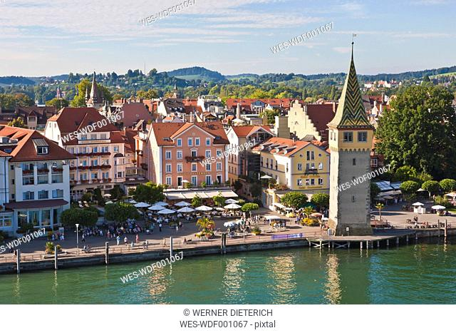 Germany, Bavaria, View of Lindau