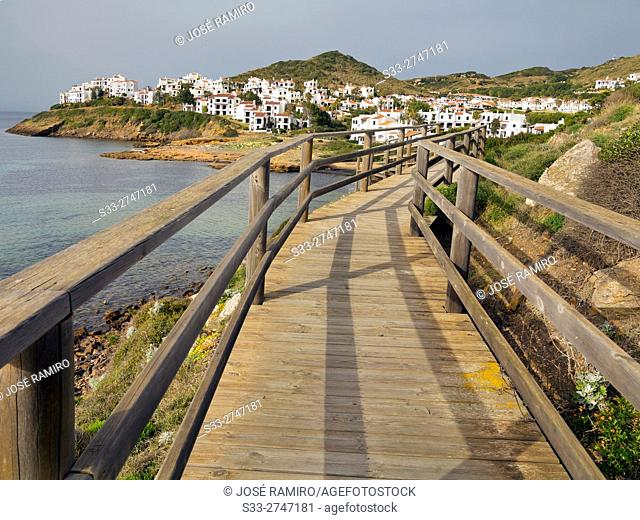 Cala Tirant. Menorca. Islas Baleares. Spain. Europe