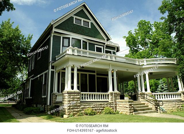 Marion, OH, Ohio, The President Harding House & Museum