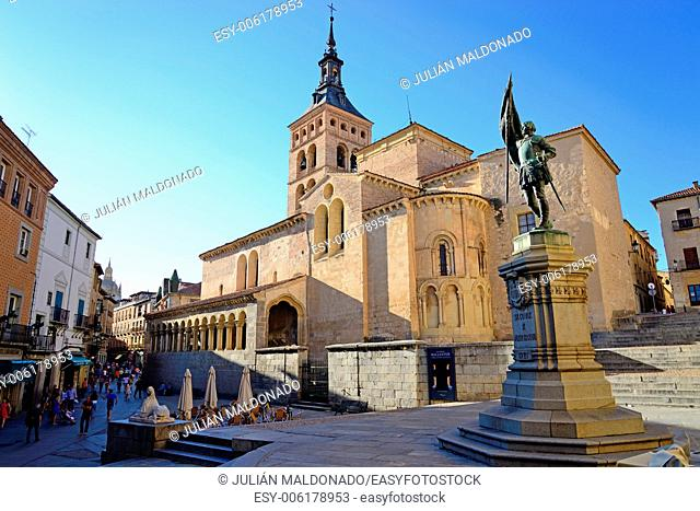 Church of San Martin, Segovia, Castilla Leon, Spain