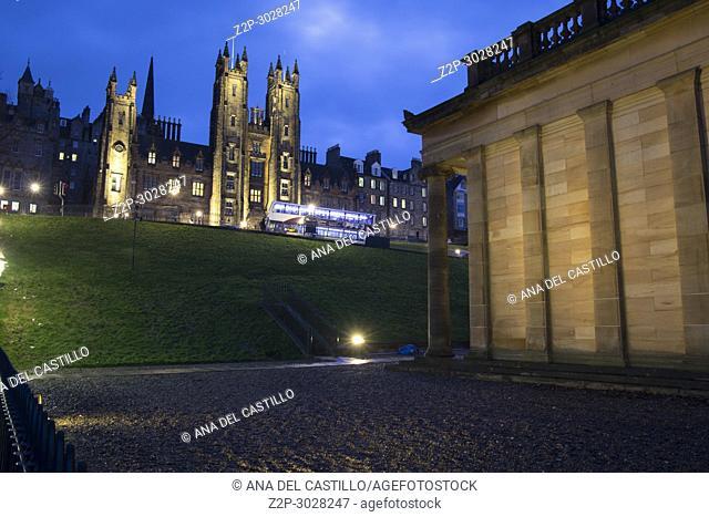 New College, Edinburgh. UK