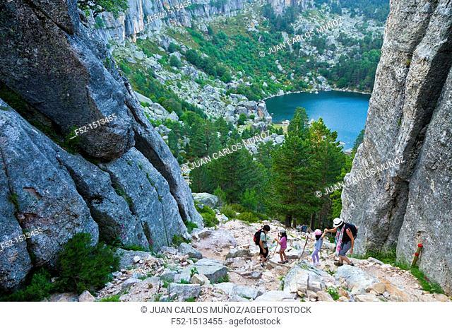Laguna Negra y los Circos Glaciares de Urbion Natural Park  Soria Province  Castilla y Leon  Spain