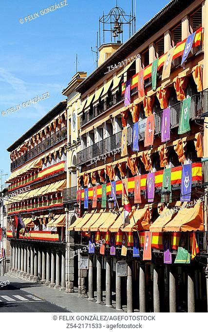 Building at Plaza Zocodover, Toledo, Spain