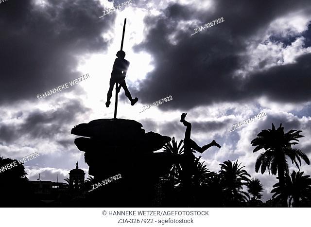 Guanche Monument in Las Palmas de Gran Canaria