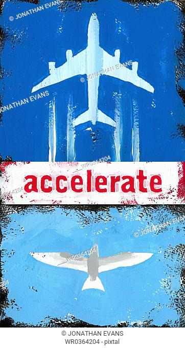Accelerate Airplane