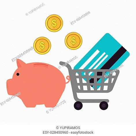 finance concept design, vector illustration eps10 graphic