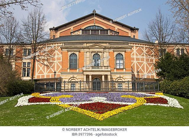Festspielhaus, Bayreuth Festival Theatre, Bayreuth, Upper Franconia, Franconia, Bavaria, Germany