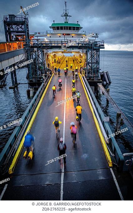 Seattle ferry terminal, Washington State