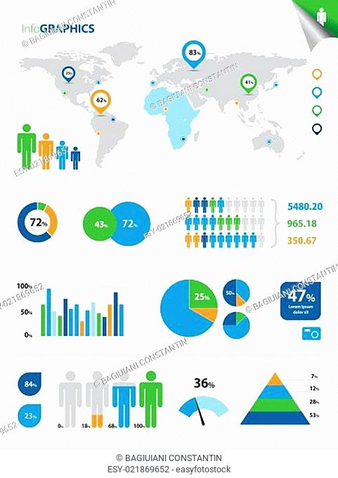 Colorful InfoGraphics