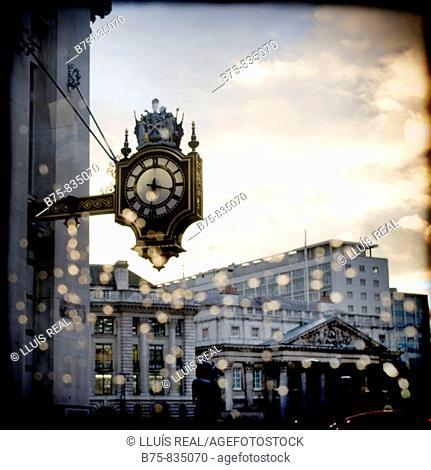 The Royal Exchange London, England