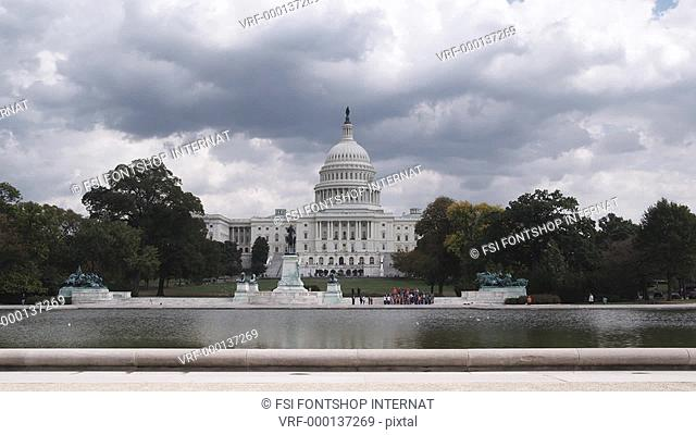 WS, Lockdown of the United States Capitol Building, Washington DC, USA