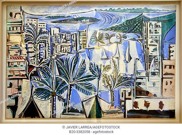 """""""La Baie de Cannes"""", 1958, Pablo Picasso, Picasso Museum, Paris, France, Europe"""