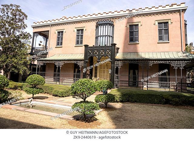 Green-Meldrim House. Sherman's Headquarters, Savannah, Georgia, USA