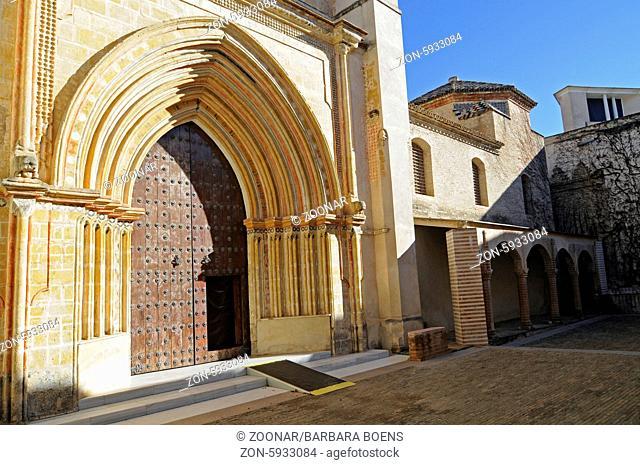 church, Centro Andaluz de Arte Contemporaneo, La Cartuja, centre for contemporary art, museum, Seville, Andalusia, Spain, Europe, Kirche