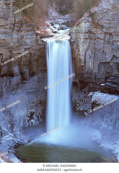 Taughannock Falls, 215' Finger Lakes Area, NY, New York