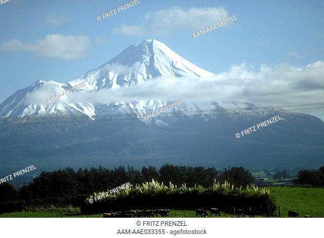 New Zealand - Winter, Volcano, Mt. Taranaki