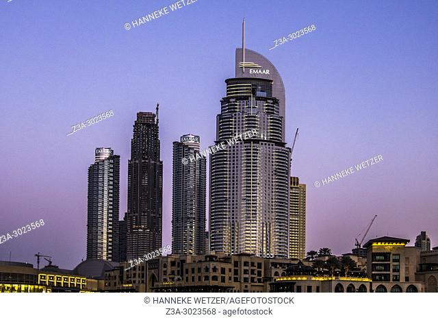 Emaar Properties supertall skyscrapers in Dubai