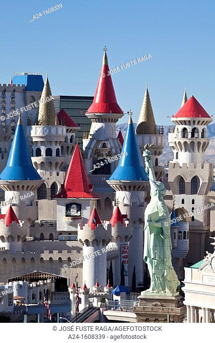 USA-Nevada-Las Vegas City-Excalibor Hotel