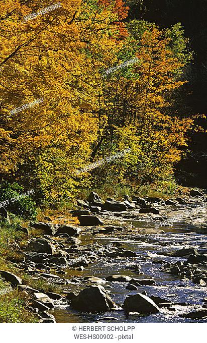 USA, Vermont, Green Mountains