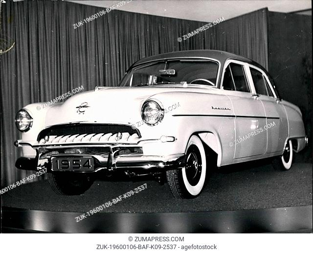 1968 - The new Opel - Kapitaen - style 1954. This new car is really world class as the model 1954 shows quite a lot of improvements