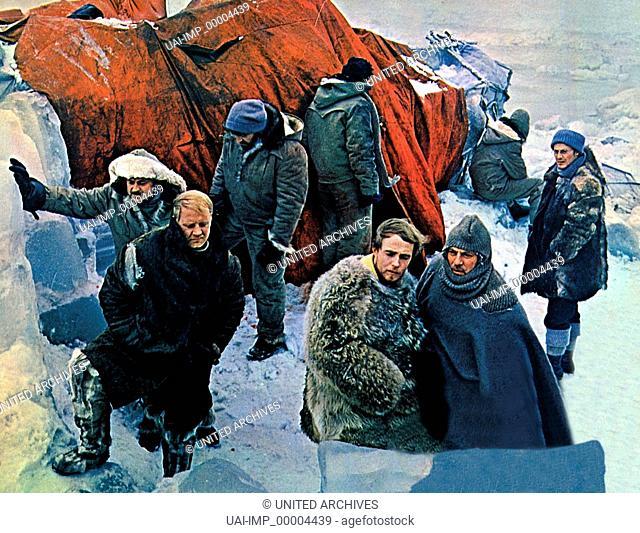 Das rote Zelt, (LA TENDA ROSSA) IT-SU 1968, Regie: Mickail K. Kalatosov, PETER FINCH (vo re)
