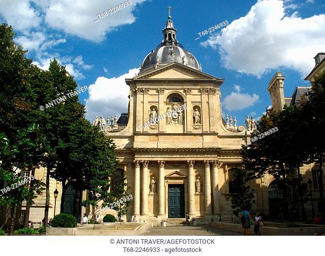 Church of La Sorbonne, Paris, France