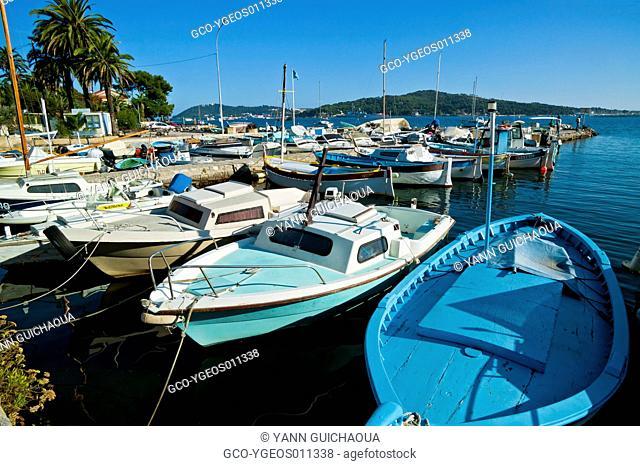 Harbour Of Le Manteau, Toulon's Bay, Var, Provence, France