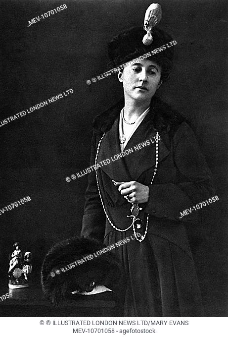 Gladys Helen Rachel (nÚe Goldsmid), Lady Swaythling (1879-1965), Vice-President of the NSPCC; wife of 2nd Baron Swaythling (head of the banking firm
