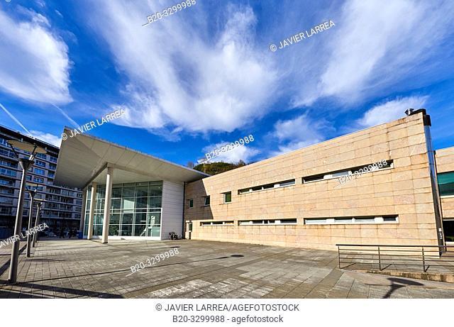 Amara Berri Health Center building, Donostia, San Sebastian, Gipuzkoa, Basque Country, Spain