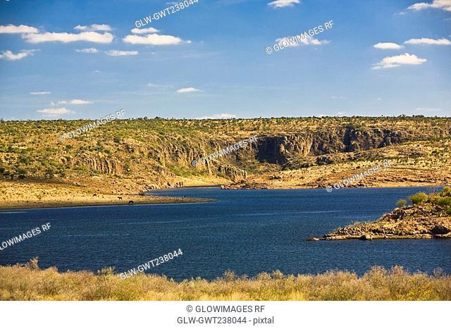 Panoramic view of a landscape, San Jose De Gracia, Aguascalientes, Mexico