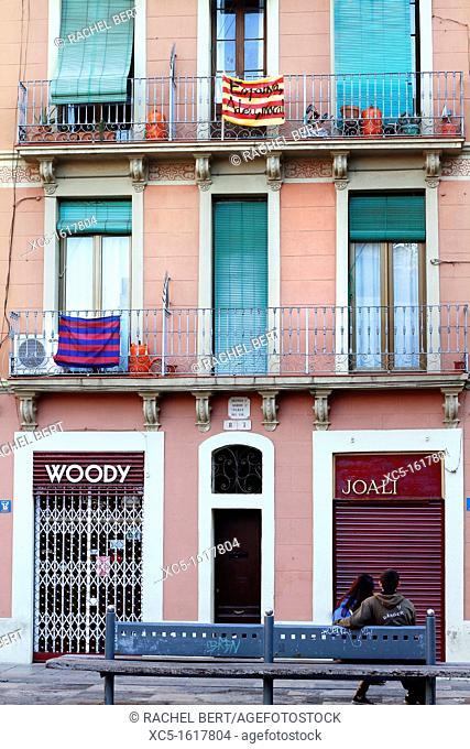 Gracia Quarter, Barcelona, Catalonia, Spain