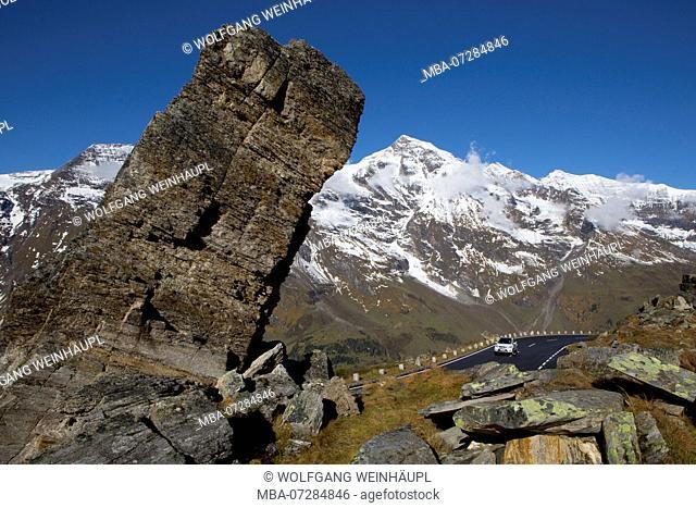 Austria, Salzburg State, Grossglockner High Alpine Road