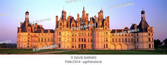 Chateau de Chambord Chambord Chateau, Loir-et-Cher, Loire Valley, France, No Release