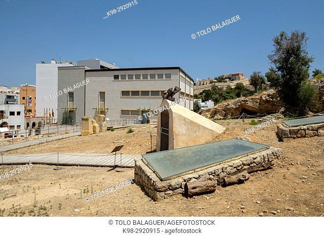 Punic necropolis of Puig des Molins, Ibiza and Formentera Archeological Museum, Patrimonio de la Humanidad «Ibiza, biodiversidad y cultura», Ibiza