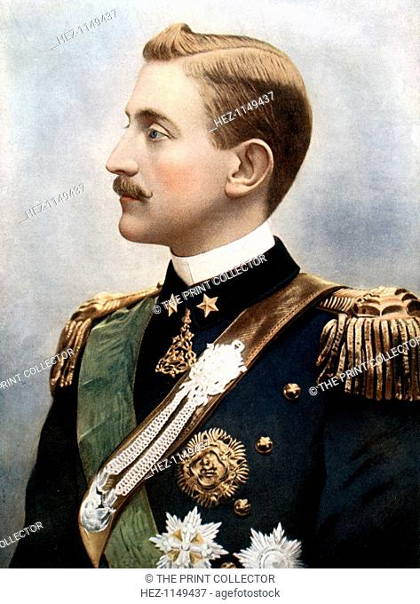 Emanuele Filiberto, Duke of Aosta, late 19th century. Emanuele Filiberto, 2nd Duke of Aosta and Prince of Savoy (1869-1931)